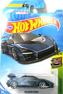 2019 Hot Wheels McLaren Senna regular