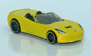14' Corvette Stingray convertible (4925) HW L1210124