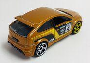 09 Ford Focus RS. Rearvue