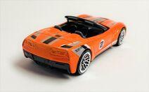14 Corvette Stingray Conv. 2020 Mystery Car Ser 2. Rearvue