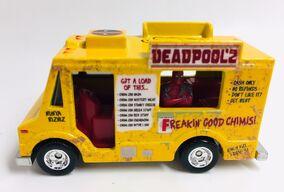 Deadpool Chimi Van Side