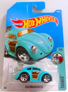 Volks Beetle (Blu) Tooned 7 - 17 Cx