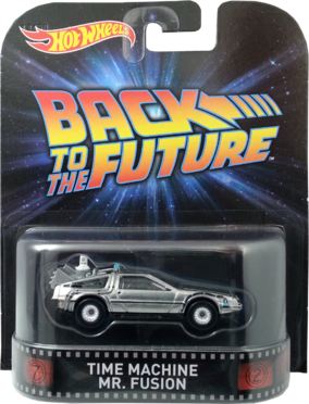 Time Machine Mr, Fusion package front