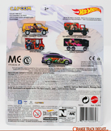 2019 Hot Wheels '88 Mercedes Unimog U1300 Street Fighter card back