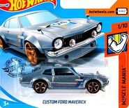 2019 Hot Wheels Custom Ford Maverick 2nd color