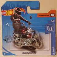 2020 Hot Wheels Honda Monkey Z50