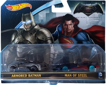 Batman v Superman 2-Pack package front