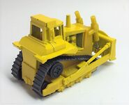Cat Bulldozer. Rear Perspective