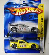 No25 Vette C6R(Shrt Cards)