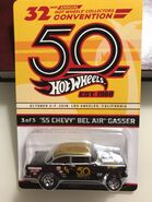 '55 Chevy Bel Air Gasser 32nd Hot Wheels Collectors Convention