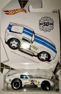 2019 Hot Wheels Larry Wood 50th Anniversary 6//10 Wild Thing NIP