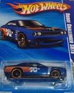 2010 HW Performance 02-10 '08 Dodge Challenger SRT8 'K&N' Blue (Walmart Exclusive)