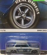 Real Riders 11-18 BMW 2002 '02 Goodyear' Silver