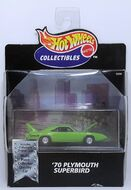 '70 Plymouth Superbird - 1999 Cool Collectibles - Lime Green