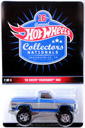 2016 - 16th Hot Wheels Annual Collectors Nationals Chevy Silverado