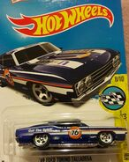 2016 183-250 HW Speed Graphics 08-10 '69 Ford Torino Talladega 'Union 76' Blue