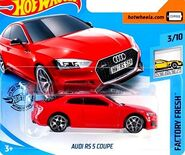 2019 Hot Wheels Audi RS 5 Coupe