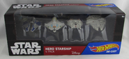 Star Wars Hero Starship 4-pack (DGN55)