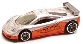 McLarenF1 Speed Silver