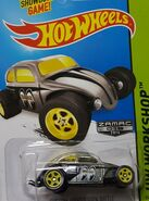 2014 247-250 HW Workshop - Performance - Custom Volkswagen Beetle -Mooneyes- ZAMAC