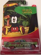 Plymouth Fury. Mickey Mouse. Card