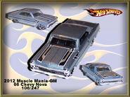 2012 Muscle Mania-GM 66 Chevy Nova