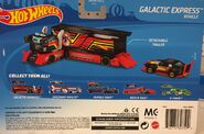 Galactic Express Back Card