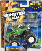 Hot-Wheels-2017-Monster-Jam-Includes-Team-Flag