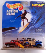 Hot wheels action packs surf's up