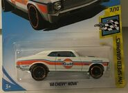 2019 Hot Wheels '68 Chevy Nova 2nd colour