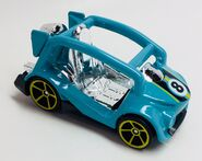 Kick Cart Recolor. Blue