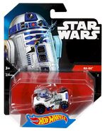 CGW37 Hot Wheels Star Wars Character Car R2 D2 XXX