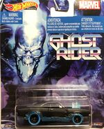 GJR34 Ghost Rider Dodge Charger Carded