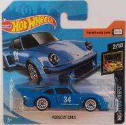Porsche 934.5 - Blue FJX65 Card