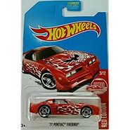 2017 Hot Wheels Red Edition'77 Pontiac Firebird