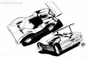 Hotwheels Drawings Page 06-6 zpspzzistlt