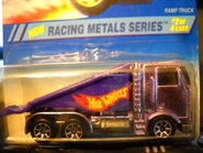 1995 Ramp Truck Purple Chrome Racing Metals Series