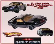 2012 New Models K.I.T.T. Knight Industries Two Thousand 17-247
