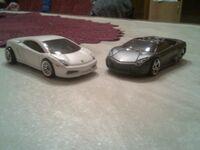 2 Lamborghinis