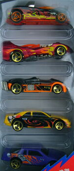 Volcano blowout blasters 5-pack 1998