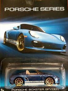 Porsche Series 6-8 Porsche Boxster Spyder Blue