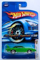 '70 Plymouth Superbird - 2006 First Editions Green 5SP - 1-2