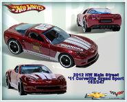 2012 HW Main Street 11 Corvette Grand Sport 162-247