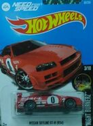 2016 083-250 Night Burnerz 03-10 Nissan Skyline GT-R (R34) Need For Speed Red
