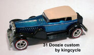 31 Doozie - blue custom by kingcycle