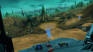 Planeta Sark - Terras Aridas de Torborian