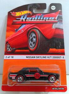 Nissan Skyline HT 2000GT-X - Redline 15 Cx