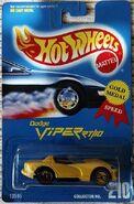 Hot Wheels Dodge Viper RT10 Yellow