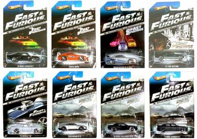 2013 - Fast & Furious set of 8 cars