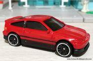 HW Red 88HondaCRX